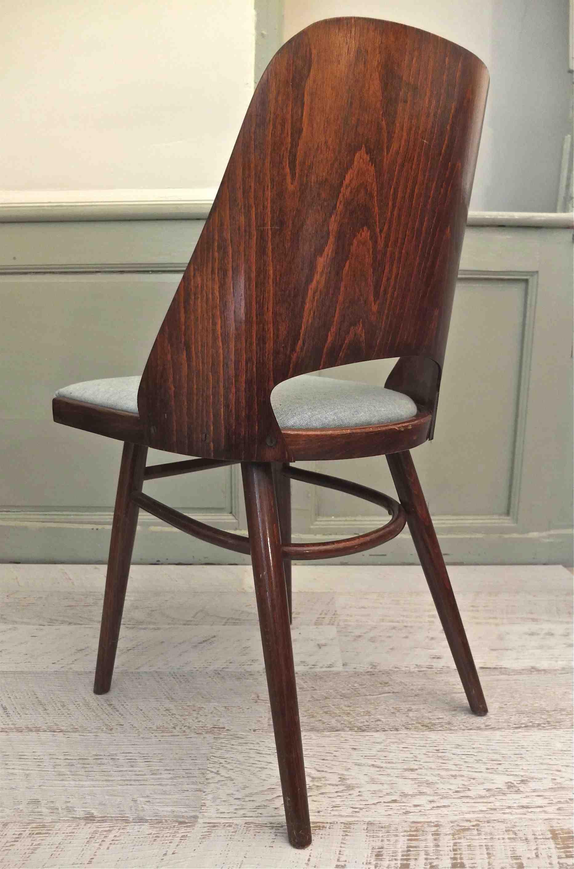 slavia vintage mobilier vintage chaise ton des ann es 60 kava 2. Black Bedroom Furniture Sets. Home Design Ideas