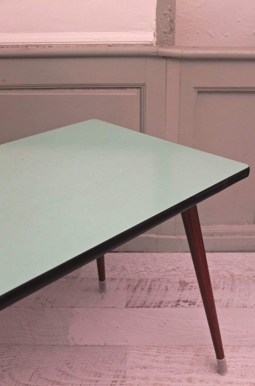 Slavia vintage mobilier vintage table pieds compas des - Pieds de table vintage ...