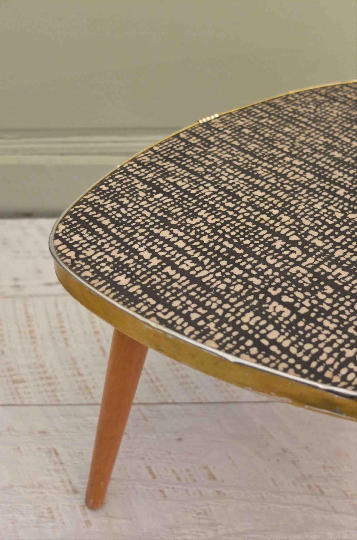slavia vintage table tripode vintage annes 50 tweed 9