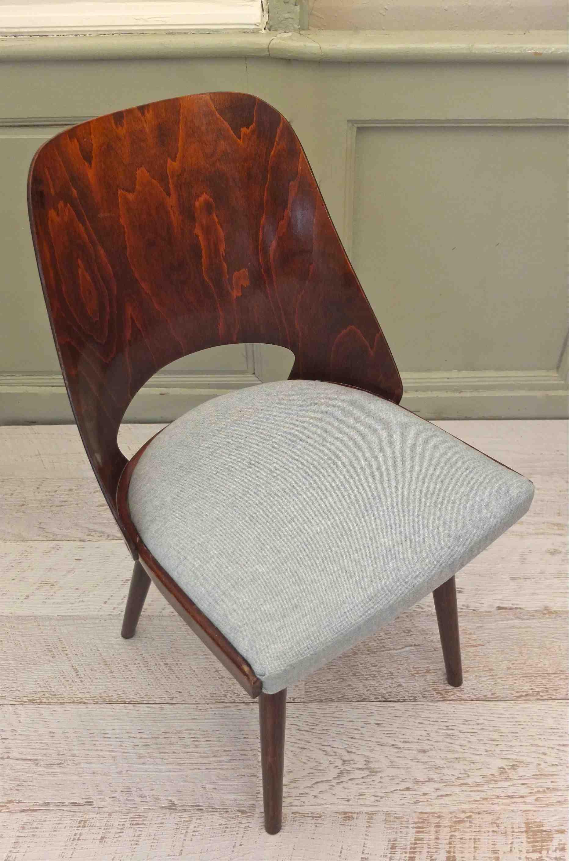 slavia vintage mobilier vintage chaise ton des ann es 60 kava. Black Bedroom Furniture Sets. Home Design Ideas