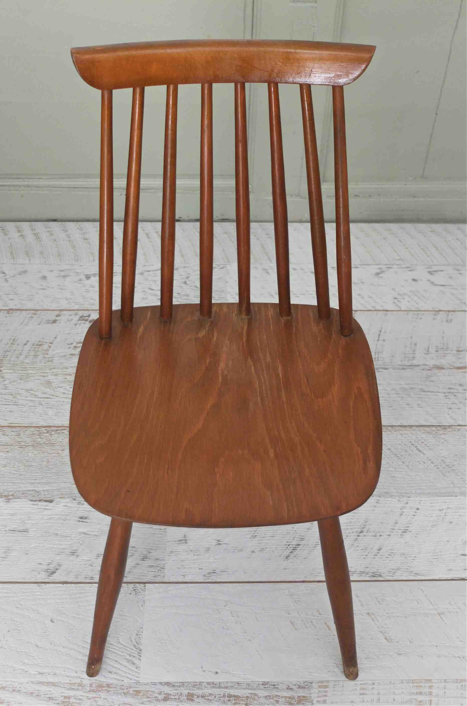 Slavia vintage mobilier vintage chaise polonaise for Chaise a barreaux