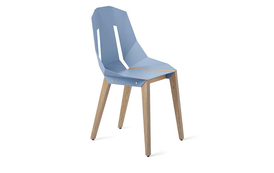 Slavia vintage mobilier contemporain tabanda chaise for Chaise pastel