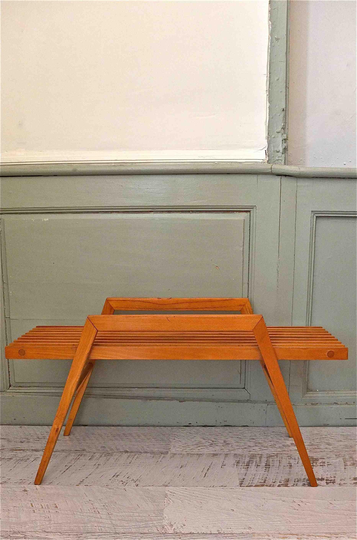 slavia vintage mobilier vintage tablette des ann es 60 parall le. Black Bedroom Furniture Sets. Home Design Ideas
