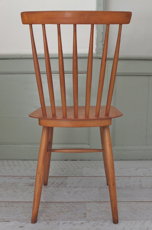 Chaise A Barreaux Ton Vintage Tcheque Forest Slavia 3