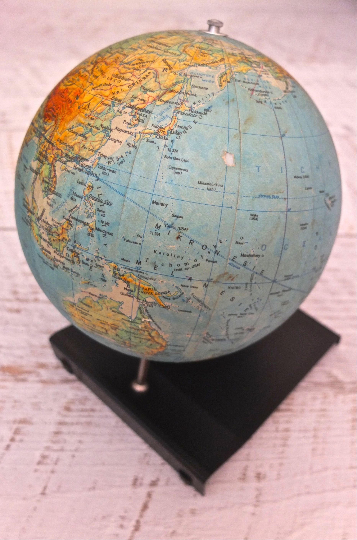 slavia vintage mobilier vintage globe terrestre des ann es 70 nov sv t ii. Black Bedroom Furniture Sets. Home Design Ideas