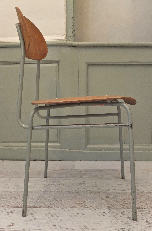 Slavia vintage mobilier vintage chaise de style industriel koln q - Chaise type industriel ...