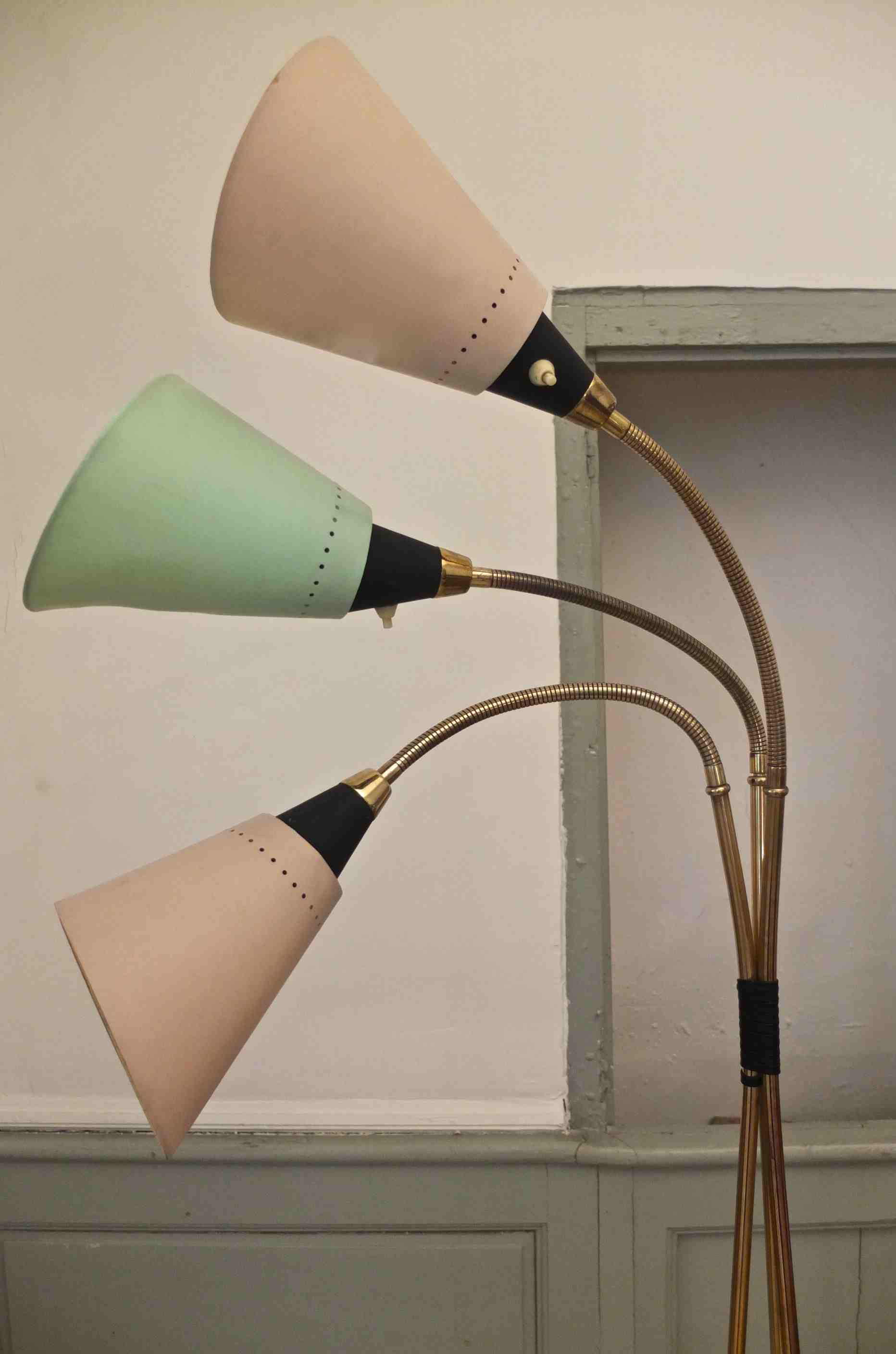 Slavia vintage lampe vintage In the mood for love années 50