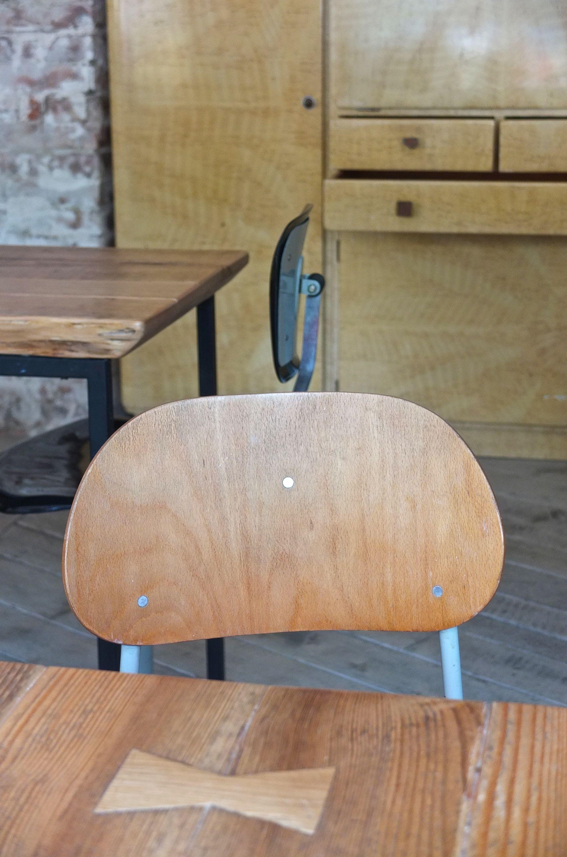 Slavia vintage mobilier vintage chaise de style industriel tovarna - Chaise type industriel ...
