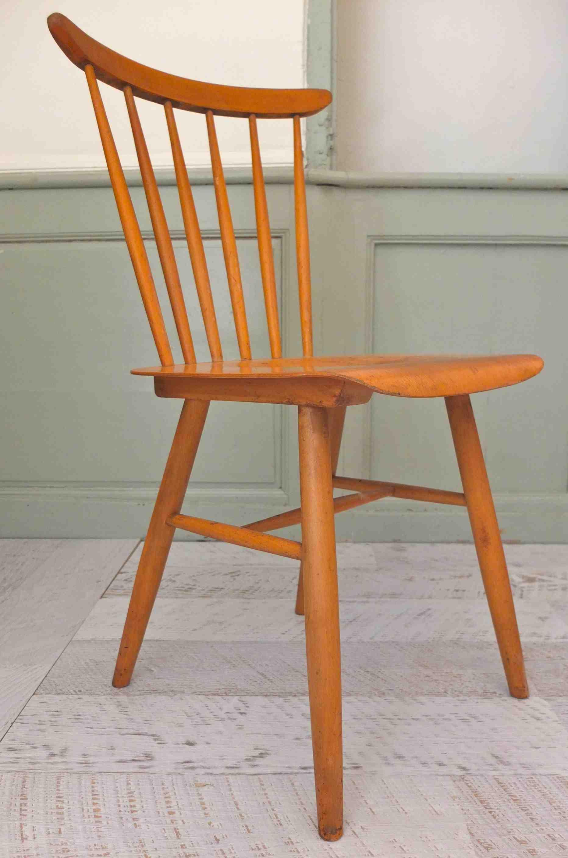 slavia vintage mobilier vintage chaise de style scandinave kerouac. Black Bedroom Furniture Sets. Home Design Ideas