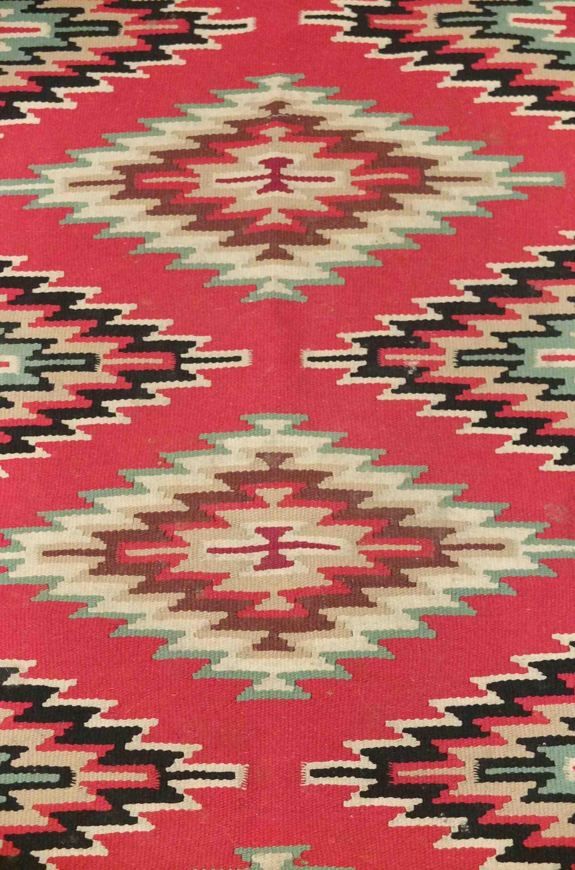 Slavia Vintage Mobilier Vintage Tapis Des Ann Es 60 Aux Motifs Navajo Pocahontas