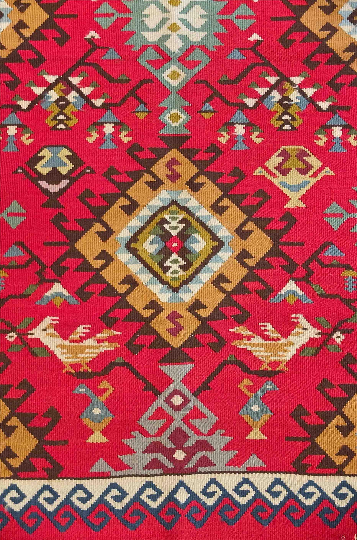 slavia vintage mobilier vintage tapis des ann es 60 mesopotamia. Black Bedroom Furniture Sets. Home Design Ideas