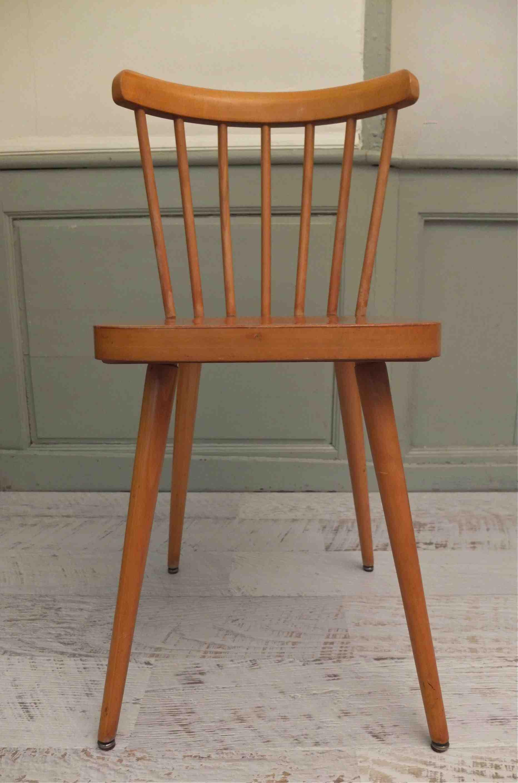 slavia vintage mobilier vintage lot de 2 chaises des ann es 50 big sur. Black Bedroom Furniture Sets. Home Design Ideas