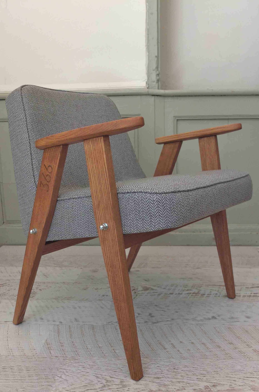 Slavia vintage mobilier vintage fauteuil 366 jozef for Commande meubles concept