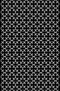 """Tissu """"Grids"""" 5 -  Falbanka - design polonais"""