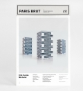 zupagrafika - maquette  Cité Curial Michelet - série Paris brutaliste