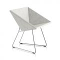 Fauteuil RM57 - gris clair chiné