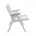 Fauteuil rex lounge - blanc - design slovène - Rex Krajl