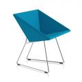 Fauteil RM57 - bleu uni