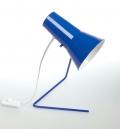 lampe 21616 des années soixante - design tchèque (bleue)