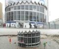 "zupagrafika - Bloc de l'Est - maquette ""Rotunda PKO""  - graphisme polonais"