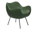 design polonais - roman modzelewski - fauteuil RM58 mat - vert olive - vzor