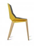 tabanda - design polonais - chaise Felt Diago - feutre/jaune