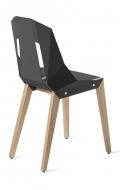 "tabanda chaise ""diago"" gris graphite - RAL 7015 - design polonais"