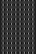 """Tissu """"Grids"""" 2 -  Falbanka - design polonais"""