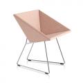 Fauteuil RM57 - rose clair chiné