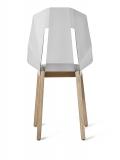 tabanda - design polonais - chaise Felt Diago - feutre/blanc
