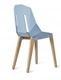 tabanda - design polonais - chaise Felt Diago - feutre/bleu pastel