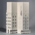 Carte 3D -  façades Art nouveau de Vinhorady & tour de télévision de Žižkov