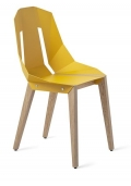 "tabanda - chaise ""Diago"" sunny yellow"" jaune - RAL 1004 - design polonais"