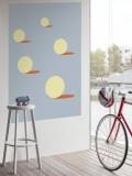 """lavmi - design tchèque - mural """"Sunny"""" (plusieurs dimensions disponibles)"""