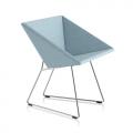 Fauteuil RM57 - bleu clair chiné