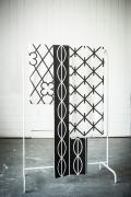 """Tissu """"Grids"""" 1 -  Falbanka - design polonais"""