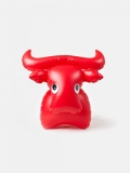"libuše Niklová - jouet gonflable ""bull"" - fatra - design tchèque"