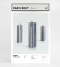 zupagrafika - paris brutaliste - maquette  Tour Prélude - Orgues de Flandre