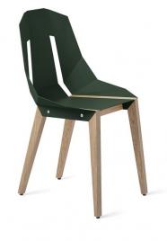 """tabanda - chaise """"Diago"""" vert foncé - RAL 6005 - design polonais"""