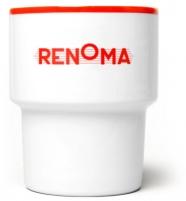 """mamsam - mug en porcelaine """"renoma""""  - graphisme polonais"""