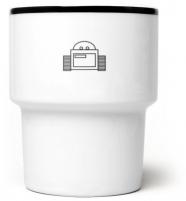 """mamsam - mug en porcelaine """"robot II """" - graphisme polonais"""