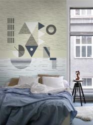 """lavmi - design tchèque - mural """"Sunset"""""""