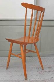 """Lot de 2 chaises à barreaux TON de style scandinave """"Forest"""""""