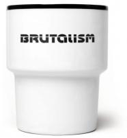"""mamsam - mug en porcelaine """"brutalism"""" - graphisme polonais"""