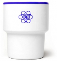 """mamsam - mug en porcelaine """"Flower power"""" - graphisme polonais"""