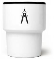 """Noël - idée cadeau - mug en porcelaine """"compas"""" - mamsam - graphisme polonais"""