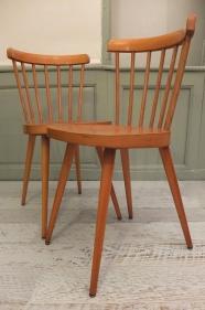 """Lot de 2 chaises des années 50 """"Big Sur"""""""