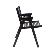 Chaise rex - noir - design slovène - Rex Krajl