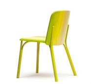 Chaise Split - Ton - jaune