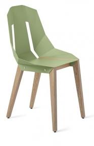 """tabanda - chaise """"Diago"""" vert menthe - RAL 6021 - design polonais"""